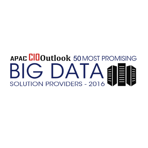 APAC CIOOutlook Top 50 most promising Big Data Solution providers in 2016