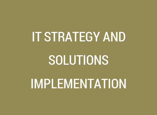 IT Strategy & Solutions Implementation Services